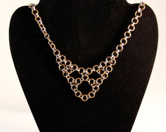 Grunge - Chainmail - Gothic Jewelry - Chain - Medieval - Necklace - Renaissance - Punk Rock - Punk Jewelry - Unique Jewelry - Gift for Her