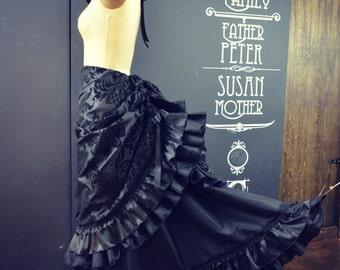 Victorian Steampunk Bustle Skirt
