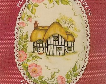 Paint Pot Pins and Needles, Canterbury Cottage by Jen Sykes,