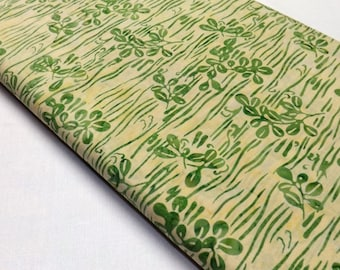 Bamboo Leaves Sewing Fabric, Hoffman Designer Batik Fabric F2061-20 Batik Cotton Quilting Fabric,