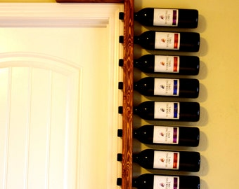 Wine Rack - Wine Bottle Holder - Wine Storage - Rustic Wine Rack