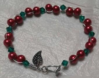 Holly Berry Bracelet