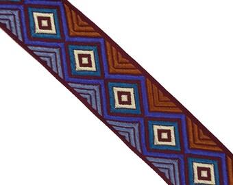 Geometric Aztec Ethnic Ribbon Trim for Fashion Crafts 2 YARDS