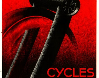Cycles Automoto Poster (#0432) 6 sizes