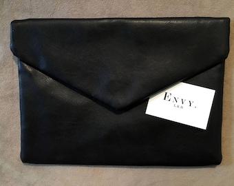 Classic Black Clutch Bag