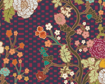 INDIE Marqueterie Berry  (IN-5205) - Patricia Bravo - Art Gallery Fabrics - By the Yard
