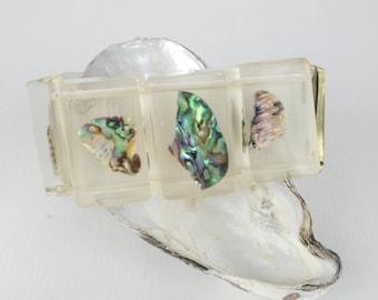 Abalone Bracelet - Gift for Women - Beach Comber - Abalone Bracelet - Chunky Bracelet - Seashell Bracelet - Beach Wedding