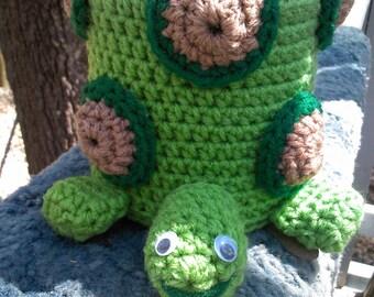 crochet toilet paper cover,turtle,animal
