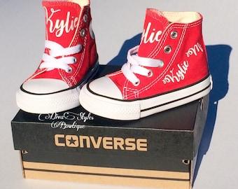 Monogrammed Converse, Monogram Baby Converse, Monogrammed shoes,Personalized Converse, personalized shoes