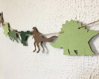 Dinosaur Garland - Dinosaur Banner - Dinosaur Decor