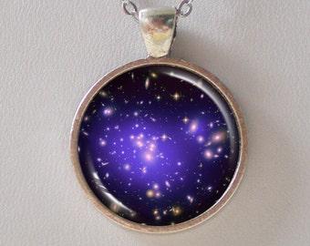 Galaxy Necklace -Galaxy Cluster Abell 1689 & Dark Matters - Galaxy Series (G022)