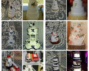 Wedding Cake Replica Made To Order Mini Cake Custom Ornament