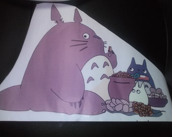 Totoro Anime Color Colorful 3D Vinyl Wall Decal Sticker for Bedroom Home Nursery Office Room Decor Decorate Mural 9.2 Inches