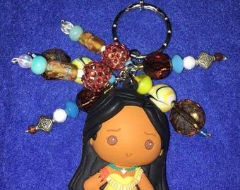 Pocahontas Purse Charm Disney Backpack Charm