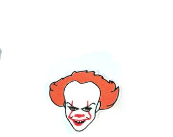 IT Pennywise the dancing clown embroidered iron on patch