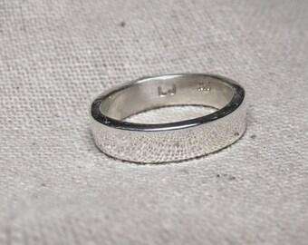 5mm Flat Sterling Silver Ring RF542