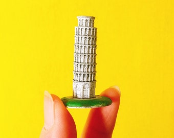 Tower of Pisa Rome Leaning Tower Italy Statue Miniature Figurine