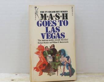 Mash Goes to Las Vegas, 1976, vintage book, tv series