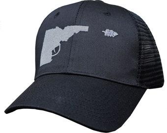 Idaho Tree-Gun Adjustable Mesh Hat