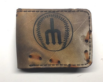 Repurposed Seattle Mariners Bi-fold Wallet