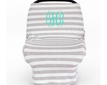 Car Seat Cover - Nursing Cover - High Chair Cover
