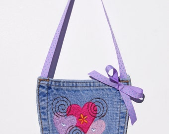 Children's Denim Pocket Purse