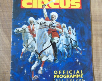 Moscow State Circus Official Programme 1988