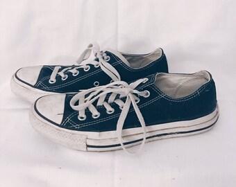 Black Converse Sneakers- worn
