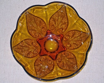 Amber Glass, Anchor Hocking Glass Bowl