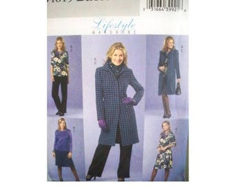 Butterick Pattern 4619 - Women's Lifestyle Wardrobe Pattern - Uncut
