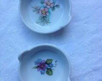 Vintage Pillivuyt Trinket dishes from 1990's