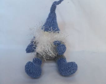 Knitted gnome stuffed toy