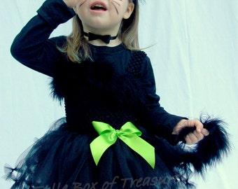 Pretty Kitty Black Cat Tutu Costume