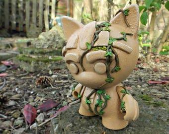 "Custom 7"" Kidrobot Trikky Vinyl Figure. Munnyworld Custom Vinyl 'The world they left behind'"