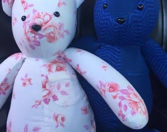 Memory Bear/Bunny/Dog from Onesies