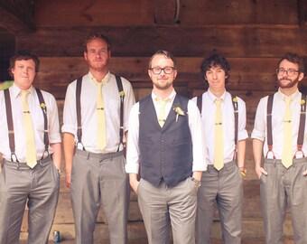Necktie, Mens Necktie, Neck Tie, Groomsmen Necktie, Ties, Tie, Wedding Neckties, Groomsmen Gift, Gingham Necktie, Ties - Gingham Collection