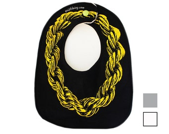Gold-Seil-Kette) Bib) Farben verfügbar