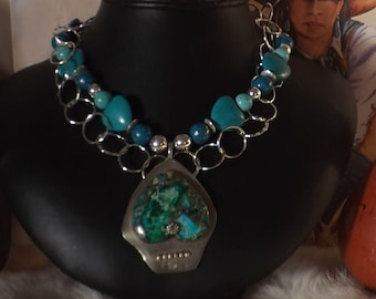 Heart of my Heart Turquoise Southwest Necklace