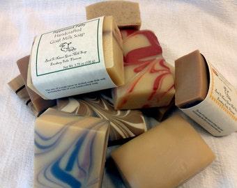 9 Bar Special-Goat Milk Soap-You Choose Scent/price break