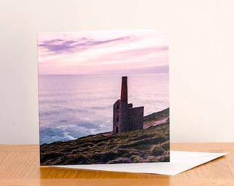 The Wheal, Cornwall - Greeting Card