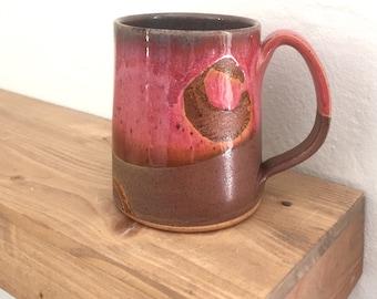 coffee mug pottery, coffee mug, coffee cup, tea, handmade mug, pottery mug, birthday gift for her, mom, grandma, coffee lover,