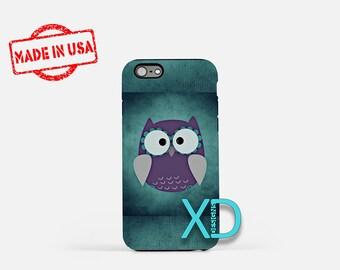 Purple Owl iPhone Case, Owl iPhone Case, Purple Owl iPhone 8 Case, iPhone 6s Case, iPhone 7 Case, Phone Case, iPhone X Case, SE Case