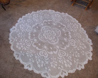 Handmade Lace Tablecloth