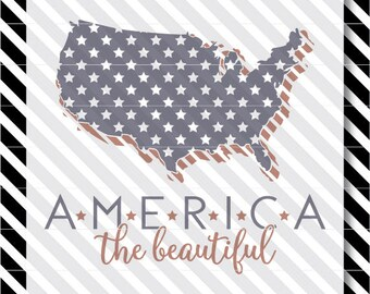 America svg cut file - Patriotic svg - 4th of July cut file - Patriotic svg cut file - 4th of July svg - 4th of July vector - America vector