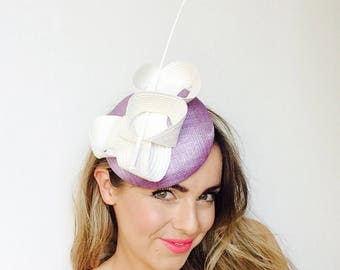 Modern hat for the races, Sinamay hat, Ascot hats, designer races hat