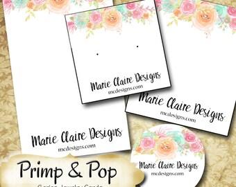 PRIMP & POP•Custom Tags•Labels•Earring Display•Clothing Tags•Custom •Boutique Card•Tags•Custom Tags•Custom Labels