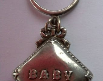 Antique Sterling Silver Baby's  Rattle