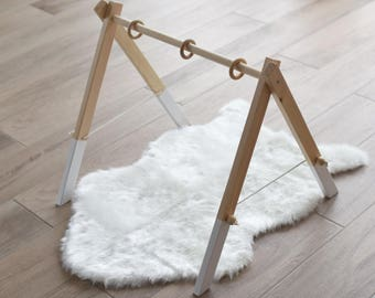 Wooden Gym / Baby Gym / Wooden Play Gym / Baby Activity Gym / Wooden Frame/Nursery Decor/Newborn Gift/Baby Mobile/Gym