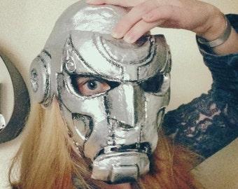 Docteur DOOM - masque cosplay - 50POUNDSOFF !