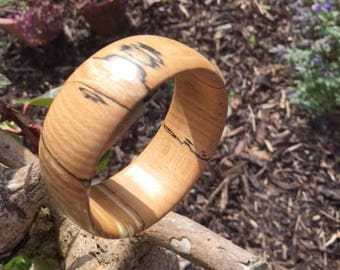 Scottish Spalted Beech Bracelet (No.4)